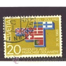 Sellos: SUIZA 1967 - YVERT NRO. 785 - USED. Lote 41034365