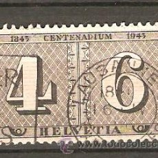 Sellos: MICHEL 416 SUIZA 1943. Lote 167899632