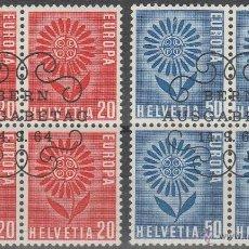Sellos: SUIZA. TEMA EUROPA . 1964. 1º DIA DE CIRCULACION. B/4 (TC313). Lote 43502624