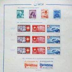 Sellos: SELLOS SUIZA, SCHWEIZ, 1938, 1939 HELVETIA. Lote 44242052