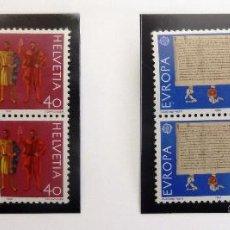 Sellos: SELLOS DE SUIZA 1982. NUEVOS. . Lote 44956287