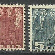 Sellos: SUIZA 1939 LOTE DE SELLOS HELVETIA. Lote 45463517