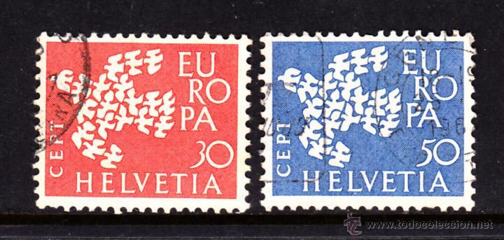 SUIZA 682/83 - AÑO 1961 - EUROPA (Sellos - Extranjero - Europa - Suiza)