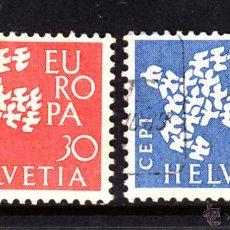 Sellos: SUIZA 682/83 - AÑO 1961 - EUROPA. Lote 46551872