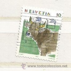 Timbres: 1992 SUIZA. ANIMALES: VACA. Lote 46985325