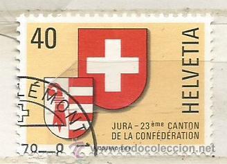 1978 SUIZA. JURA 23º CANTON (Sellos - Extranjero - Europa - Suiza)