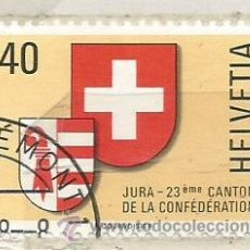 Stamps - 1978 Suiza. Jura 23º Canton - 118941575