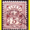 Sellos: SUIZA 1882 IVERT Nº 59 (O). Lote 47697324