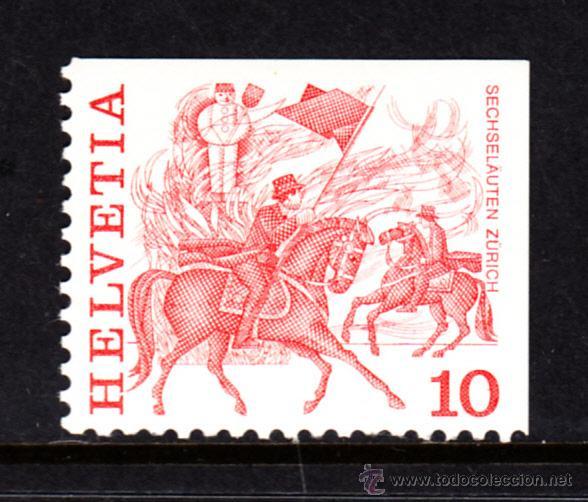 SUIZA 1034B** - AÑO 1977 - TRADICIONES - FOLKLORE (Sellos - Extranjero - Europa - Suiza)