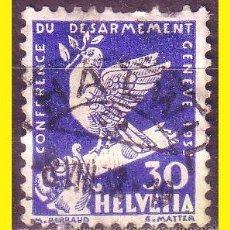 Sellos: SUIZA 1932 IVERT Nº 257 (O). Lote 50484726