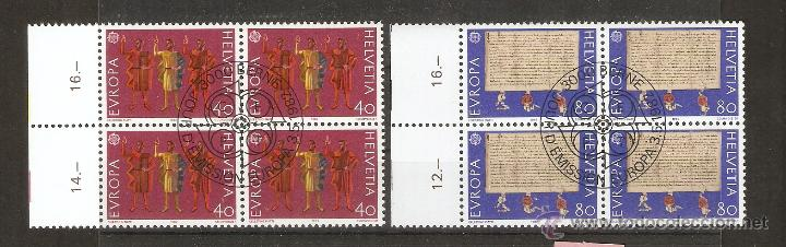 SUIZA.1982. YVERT. 1150,1151. BLOCK 4. GOMA.ORIGINAL (Sellos - Extranjero - Europa - Suiza)