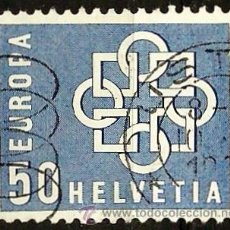 Sellos: SUIZA 1959- YV 0631. Lote 51163155