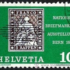 Sellos: SUIZA 1965- YV 0744. Lote 51163349