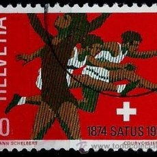 Sellos: SUIZA 1974- YV 0948. Lote 51164011