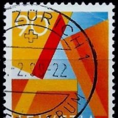 Sellos: SUIZA 1995- YV 1498. Lote 51165903