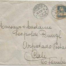 Sellos: 1923 - CORREO AÉREO HISTORIA POSTAL - SUIZA. Lote 51981150