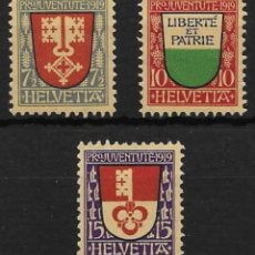 Sellos: SUIZA YVERT Nº 173/75. Lote 52690735