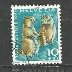 Sellos: YT 760 SUIZA 1965. Lote 56980525