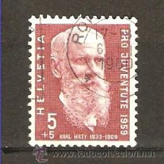 Sellos: YT 634 SUIZA 1959. Lote 198531540