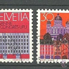 Sellos: YT 956-57 SUIZA 1974. Lote 122214224