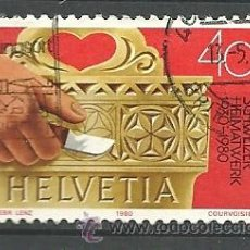 Sellos: YT 1101 SUIZA 1980. Lote 205590405