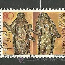 Sellos: YT 1329 SUIZA 1989. Lote 122172110