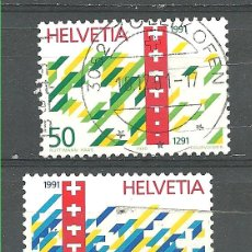 Sellos: YT 1353-54 SUIZA 1990 . Lote 53284359