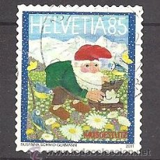 Timbres: YT 2144 SUIZA 2011. Lote 160851426