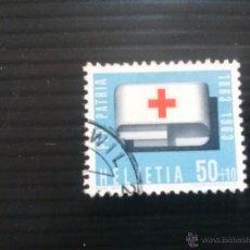 Sellos: SUIZA YVERT 715 PRO PATRIA 1963. Lote 54871099