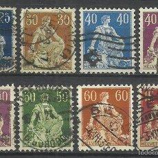 Sellos: SUIZA 1908 LOTE DE SELLOS HELVETIA . Lote 55118306