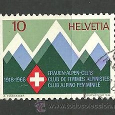 Sellos: YT 803 SUIZA 1968. Lote 168633993