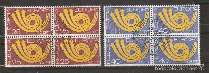 SUIZA. 1973. YT Nº 924/925. EUROPA (Sellos - Extranjero - Europa - Suiza)
