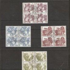 Sellos: SUIZA. 1977. YVERT Nº 1036/1041. MICHEL 1103/1108. BLOCK 4. Lote 56313623