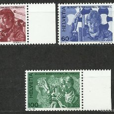 Timbres: SUIZA - 1975 - MICHEL 105/107 // SCOTT 3O105/3O107** MNH (OFICINA INTERNACIONAL DEL TRABAJO). Lote 56605324