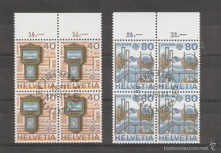 SUIZA. 1974. YT Nº 968/971. EUROPA (Sellos - Extranjero - Europa - Suiza)