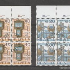 Sellos: SUIZA. 1974. YT Nº 968/971. EUROPA. Lote 57131465
