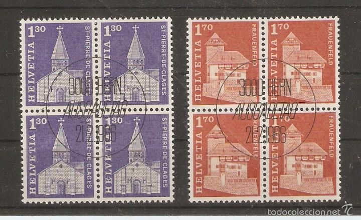 SUIZA.1966. YVERT Nº 764,765. BLOCK 4. GOMA ORIGINAL (Sellos - Extranjero - Europa - Suiza)