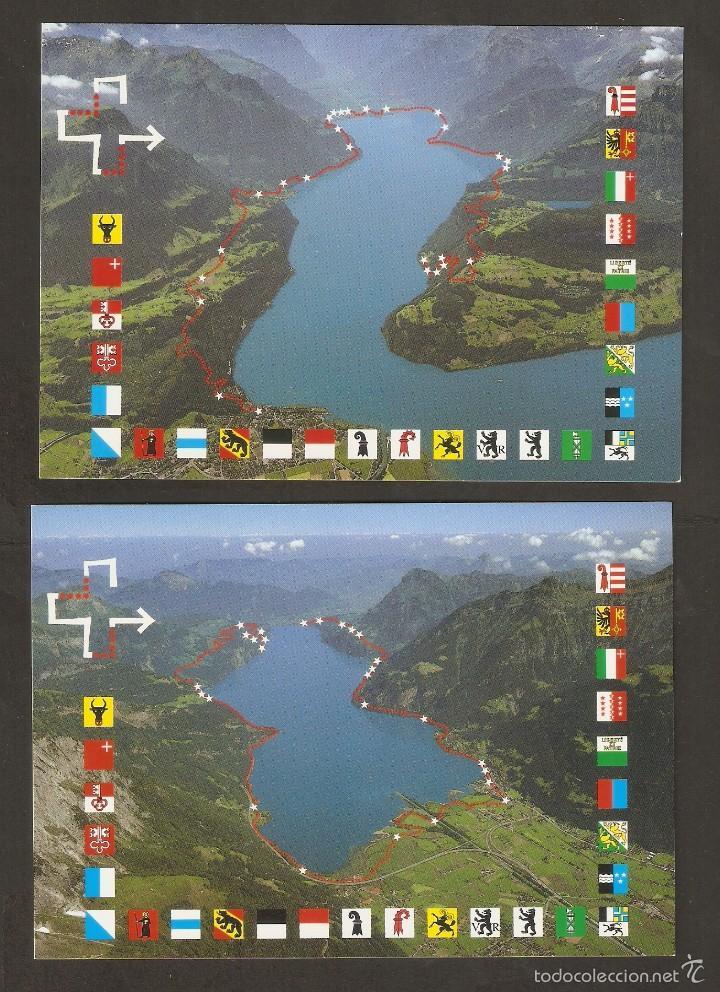 SUIZA. 1991. 2 CARTAS MÁXIMAS. PRO PATRIA (Sellos - Extranjero - Europa - Suiza)