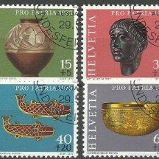 Timbres: SUIZA - 1973 - MICHEL 996/999 // SCOTT B414/B417 - USADO. Lote 57691496