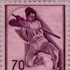 Sellos: SUIZA 1941 IVERT 360 *** HISTORIA - EL GUERRERO HERIDO DE FERDINAND HODLER. Lote 57978163