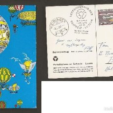 Sellos: SUIZA. 1959. TRANSPORTS ET COMMUNICATIONS. Lote 58757951