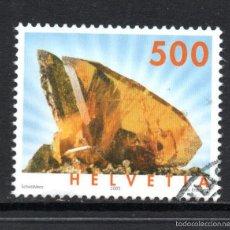 Sellos - SUIZA 1843 - AÑO 2005 - GEOLOGÍA - MINERALES - TITANITA - 59879095