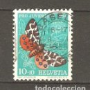 Sellos: YT 554 SUIZA 1954. Lote 168757898