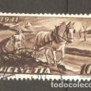 Sellos: YT 367 SUIZA 1941. Lote 168757537