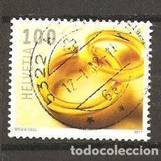 Sellos: YT 2139 SUIZA 2011. Lote 143891190