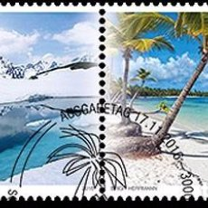 Sellos: SWITZERLAND 2016 - JOINT ISSUE SWITZERLAND – DOMINICAN REPUBLIC STAMP SET CANCELLED VERY FINE. Lote 78217970