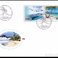 Sellos: SWITZERLAND 2016 - JOINT ISSUE SWITZERLAND – DOMINICAN REPUBLIC STAMP SET MNH. Lote 66049206