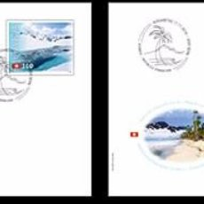 Sellos: SWITZERLAND 2016 - JOINT ISSUE SWITZERLAND – DOMINICAN REPUBLIC STAMP SET MNH. Lote 66049306