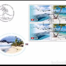 Sellos: SWITZERLAND 2016 - JOINT ISSUE SWITZERLAND – DOMINICAN REPUBLIC FDC - FIRST DAY COVER. Lote 66049366