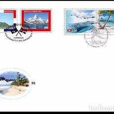 Sellos: SWITZERLAND 2016 - JOINT ISSUE SWITZERLAND – DOMINICAN REPUBLIC FDC - FIRST DAY COVER. Lote 66049430